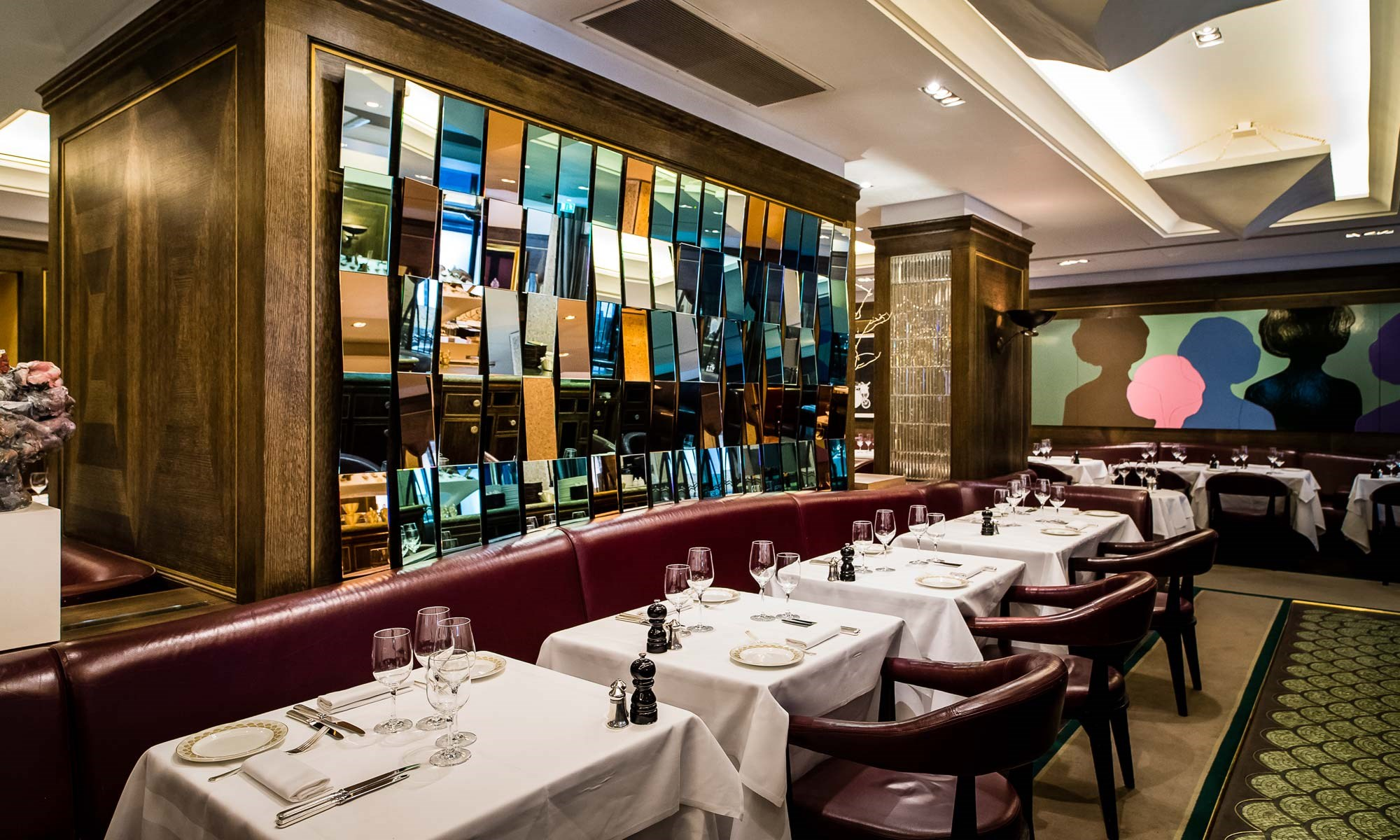 Dinner at Scott's in Mayfair, Seafood Restaurant in London