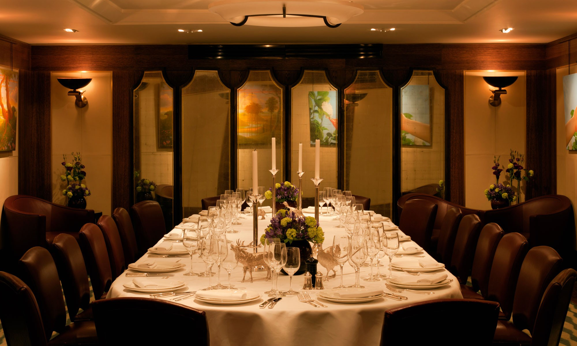 Private Dining Room in London, Mayfair, Scott's Group Dining