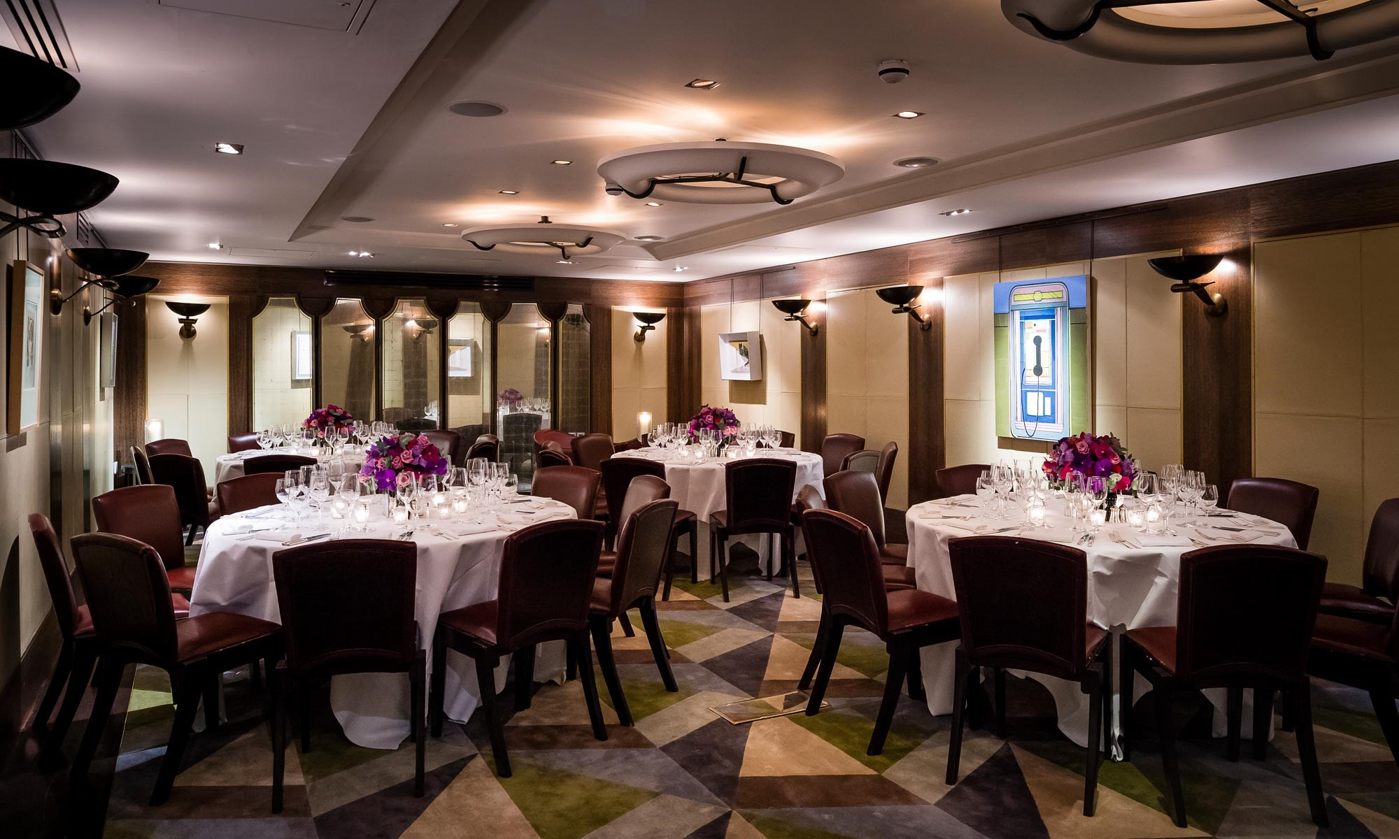 Restaurant for large groups, Scott's Private Dining Room