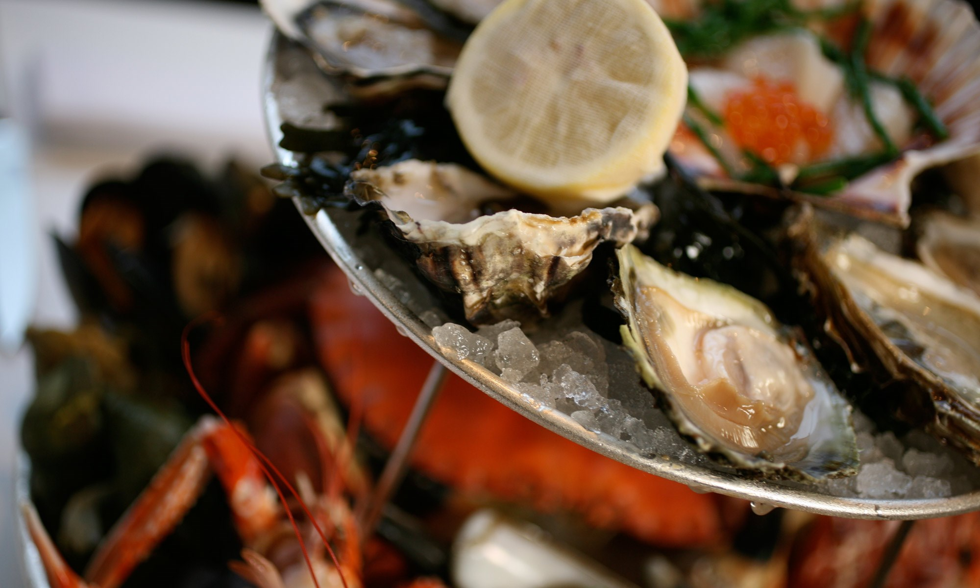 Fruits de Mer Platter at Scott's in Mayfair, London
