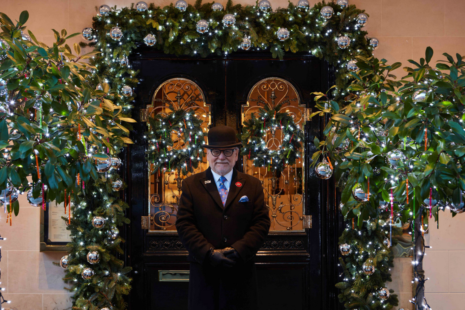 Christmas at Scott's in Central London