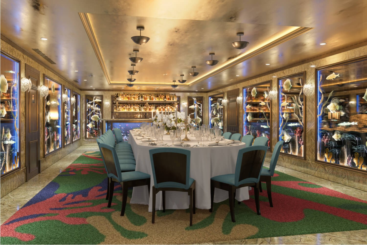 The New Private Dining Room at Scott's in Mayfair